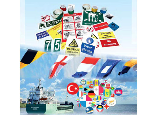 IMO Signs, ISM Posters, National & Code Flags